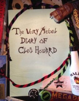 very metal diary of cleo howard 1997 by sarah tipper